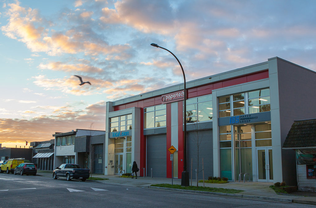 Papertech office in North Vancouver BC